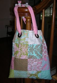 Moda Bake Shop: Back To School Grommet Bag