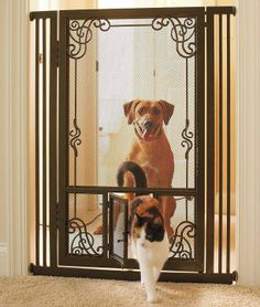 Keep your pets just where you want them with beautifully designed gates