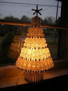Beaded Christmas tree | My grandmother made this Christmas t… | Flickr