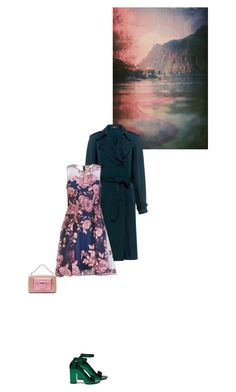 """""""Untitled #1697"""" by hologrammar ❤ liked on Polyvore featuring Theory, Notte by Marchesa, Mulberry and Balenciaga"""