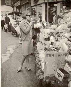 Berwick Street, Soho 1960s