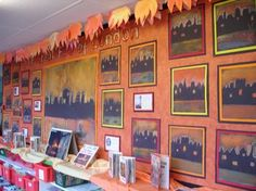 Great Fire of London classroom display