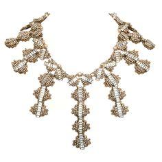 MIRIAM HASKELL Prototype Necklace 1966   1stdibs.com