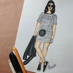 ◼◻@asagadabota  #asagadabota #draw #drawing #fashion #love #inlove #fashionillustration #minimalist #blackandwhite #illustration #instagood  #fashiondesign #designdemoda #moda #art  #arte #croqui #handmade #lookdodia #listras #lookoftheday #fashion4arts