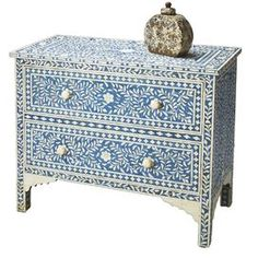 Kira Chest.  This would be great in an all white bedroom.