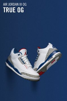 competitive price 1c2f5 5566a Jordan 3, Jordan Shoes, Jordan Retro 3, Jordans Sneakers, Blue Jordans, Nike  Air Jordans, Latest Sneakers, Shoe Game, Nike Snkrs