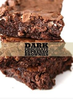 Espresso Machines Archives - A Coffee Culture Espresso Brownies, Coffee Brownies, Dark Chocolate Brownies, Chocolate Espresso, Brownie Bar, Chocolate Desserts, Brownie Heaven, Chewy Brownies, Espresso Dessert