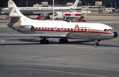 https://flic.kr/p/akVSnw | SE.210 Caravelle 6R EC-ARI | Aviaco. LGW May 1974