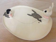 Decorative plates by Nathalie Choux