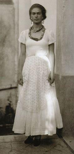 Frida Kahlo in 1929 by Guillermo Davila