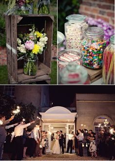 flowers - English Garden Wedding by Marianne Taylor Photography | Style Me Pretty