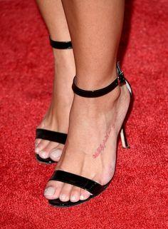 Feet photos rocsi diaz bare