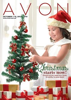 In true Filipino tradition, Christmas starts NOW with Avon! Shop for everything you need with Avon from home, to beauty, to great deals! Check out our latest brochure for that and MORE!    Maagang Maligayang Pasko, Avon Fans!