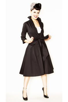 50's style - fun pose and hair
