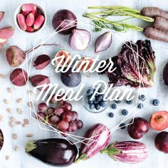 Winter Meal Plan. It comes with corresponding grocery lists and calendar. All the recipes are so delicious and easy to make. There are no processed food or sugars so it is healthy too!