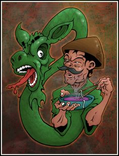 Chasing the Dragon by brewsterart.deviantart.com on @deviantART