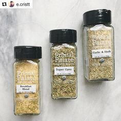 Did you know we have an AIP friendly pack  of spice blends? Our Everyday AIP blends are safe for anyone following the AIP elimination diet (AIP stands for autoimmune protocol). But these are Everyday blends too so anyone can enjoy them! They are also #whole30 approved USDA organic and certified gluten free like the rest of our spices. They are available on our site on Amazon and several other online retailers  Check out #primalpalatespices for a ton of cooking inspiration using them!  #…