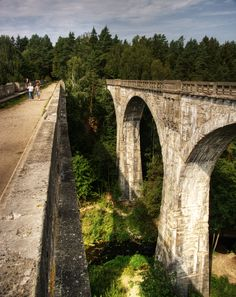 Double railway bridge, Stanczyki, Poland