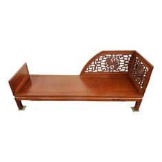 Asian Furniture, Outdoor Furniture, Outdoor Decor, Corner House, Railings, Daybed, Chinese, Carving, Symbols