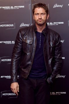 Gerard Butler - Olympus Has Fallen Stars Hang Out in Italy