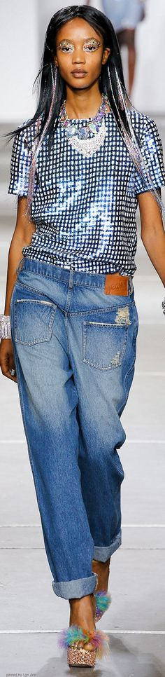Ashish Spring 2015 RTW I may be a model but I put my pants on in the morning just like everyone else, don't i?