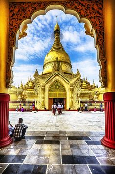Located just south of Shwedagon Pagoda complex in central Yangon). (Burmese…