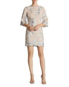 Dress the Population Paige Lace Mini Dress   Bloomingdale's