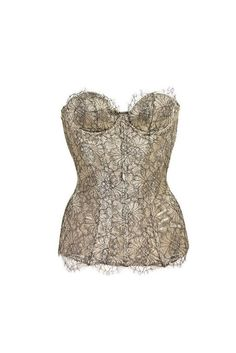 -Lace up in back. If your desired item is unavailable, why not look for an alternative in our New In section? Yes - if your item has not yet been dispatched. Lace Silk, Lace Corset, Agent Provocateur, Wedding Corset, Corset Outfit, Black Lace Bra, Floral Lace, Soft Fabrics, Clothes For Women