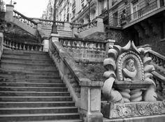 Escaliers des rues de Paris : Avenue de Camoens