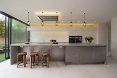 Mortise Concrete, bespoke polished concrete countertops