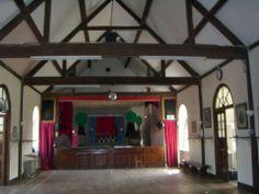 BEFORE! Buckland village hall