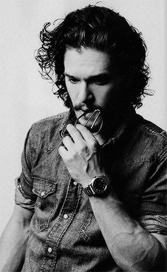 Kit Harington photographed by Francois Berthier for Plugged Magazine