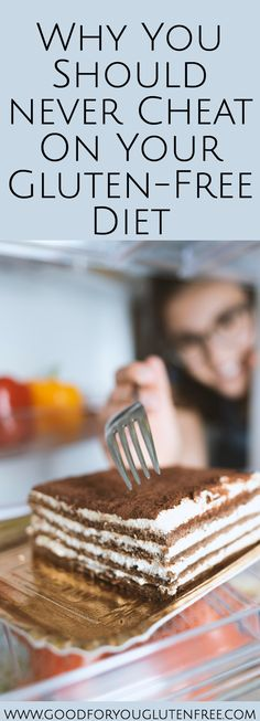 Thinking of eating gluten? In this article I explore 5 reasons why you should not cheat on your gluten-free diet, and how doing so is a matter of life or death - literally! Dessert Sans Gluten, Gluten Free Desserts, Gluten Free Recipes, Gluten Free Jokes, Pie Recipes, Cheesecake Recipes, Gluten Free List, What Is Gluten Free, Dairy Free