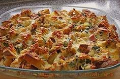Mountain farmers - casserole by Cyberlady Healthy Chicken Recipes, Crockpot Recipes, Vegan Recipes, Farmers Casserole, Casserole Recipes, Pizza Und Pasta, Vegan Fast Food, Healthy Protein, Low Calorie Recipes