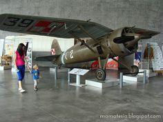 """Muzeum Lotnictwa Polskiego w Krakowie -""""Miejsce Przyjazne Maluchom"""" www.szczypiorki.pl"""