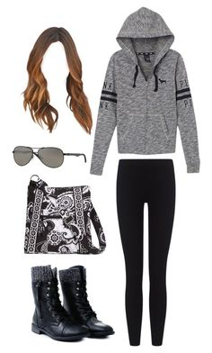 """""""Shopping"""" by swimmonster ❤ liked on Polyvore featuring James Perse, Victoria's Secret PINK, Vera Bradley and Ray-Ban"""