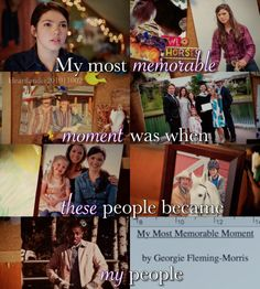 "callmebethany2010: "" Heartland Season 10 Episode 2 'My most memorable moment was when these people, became my people' """