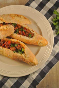 Gevulde gehaktbroodjes - Lekker en Simpel