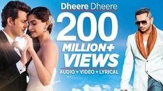 Dheere Dheere Se Meri Zindagi Video Song (OFFICIAL) Hrithik Roshan, Sonam Kapoor | Yo Yo Honey Singh - YouTube