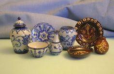 Porcelain miniatures