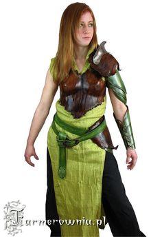 wooden/leaf armor