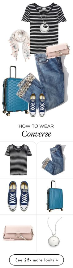 """Coming back"" by gagenna on Polyvore featuring Aimee Kestenberg, Caslon, Brock Collection, Converse, Yves Saint Laurent, Astley Clarke, Chloé and embroidered"