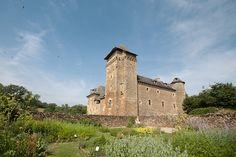 Château du Colombier in Salles-la-Source in the Aveyron département of France.