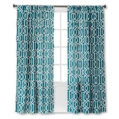 Threshold�?� Farrah Lattice Curtain Panel