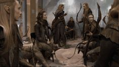 And more Mirkwood elves.