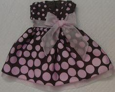 Moda Infantil Feminina Vestido Infantil Marrom E Rosa Modainfantil