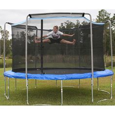 Ideal ft trampoline we ure having installed in the floor Extra padding u plush