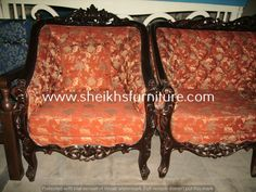 This is our solid classic rosewood sofa set. This sofa set is made in pure rosewood (sheesham) made in chiniot, Pakistan. This sofa set is handmade full of classic style carving. This sofa set is carved by our experience craftsman. This product is a valuable symbol of antique. This article can be customized on customer demand, for details you can contact us at info@sheikhsfurniture.com or  0092 315 7434547. www.facebook.com/sheikhsfurniture Drying Room, Contemporary Sofa, Living Room Sofa, Sofa Set, Craftsman, Pakistan, Classic Style, Love Seat, Carving