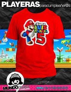 centros de mesa mario bros - Google Search Super Mario Birthday, Mario Birthday Party, Super Mario Party, Boy Birthday Parties, Super Mario Bros, 5th Birthday, Mario Y Luigi, Sonic Party, Superman Party