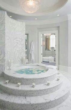 dip in the tub